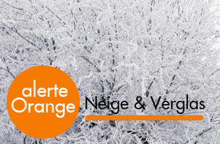 Alerte Orange - Neige verglas